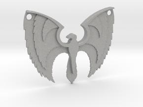 Phoenix Pendant in Aluminum