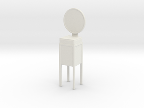 Printle Thing Bonheur du jour - 1/24 in White Natural Versatile Plastic