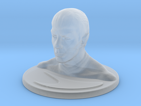 Spock in Smooth Fine Detail Plastic