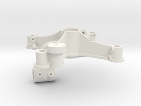 1S Contra-rotating system - Main frame in White Natural Versatile Plastic