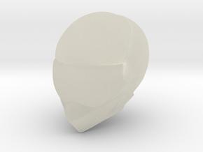 1/8 Formula Racing Helmet in Transparent Acrylic