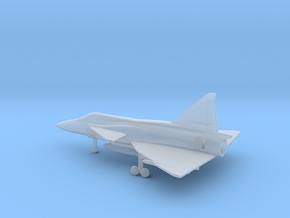 Saab J.37 Viggen in Smooth Fine Detail Plastic: 6mm