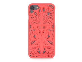 Ave Satani iPhone 7 Cover in Red Processed Versatile Plastic