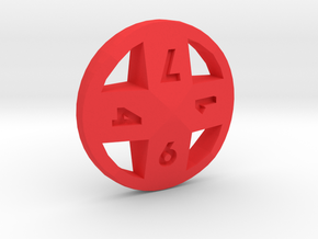 Cross d8 in Red Strong & Flexible Polished