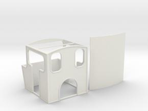 Bachmann 040 Heisler Inspired Shell in White Natural Versatile Plastic