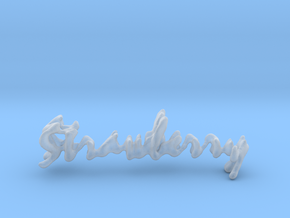 Strawberry Strawberry Necklace in Smooth Fine Detail Plastic
