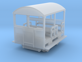 Wickham Trolley N gauge Revised version in Smooth Fine Detail Plastic