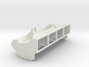 visor-1:50 in White Natural Versatile Plastic