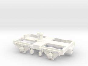 Dean 7' Bogie (Version 2)-Hornby fit in White Processed Versatile Plastic