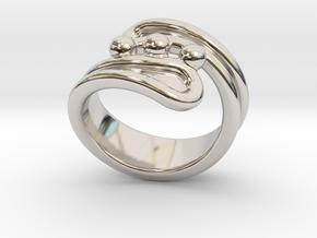 Threebubblesring 30 - Italian Size 30 in Platinum