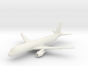 Airbus A320 in White Strong & Flexible