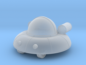 UFO (small version) in Smooth Fine Detail Plastic