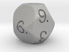 D11 Sphere Dice in Aluminum