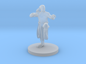 Human Male Monk in Smooth Fine Detail Plastic