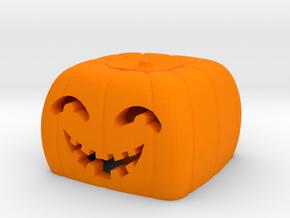 Halloween pumkin keycap 3 - cherry MX in Orange Strong & Flexible Polished