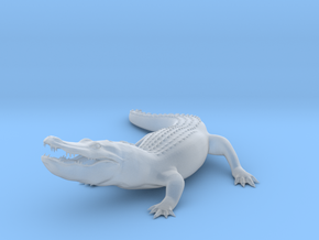 Printle Thing Alligator - 1/76 in Smooth Fine Detail Plastic