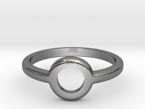 Ring of Atlantis in Polished Silver: 11 / 64