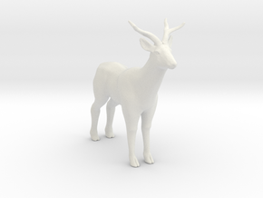 Printle Thing Deer - 1/35 in White Natural Versatile Plastic