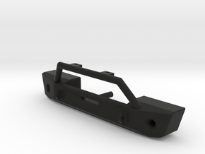Bumper for Axial SCX10 JK Style in Black Strong & Flexible