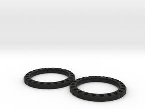 Para Weave Spin Station - 50mm in Black Natural Versatile Plastic