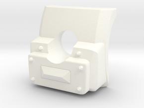 1/16th JSU 152 matlet in White Processed Versatile Plastic