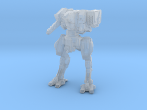 Neugen Battle Walker (2 inch version) - Pose 01 in Smooth Fine Detail Plastic