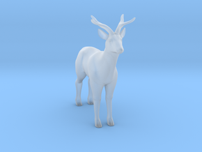 Printle Thing Deer - 1/76 in Smooth Fine Detail Plastic