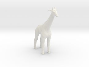 Printle Thing Giraffe - 1/76 in White Natural Versatile Plastic