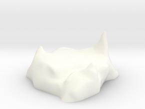 Frost avalanche pedestal in White Processed Versatile Plastic