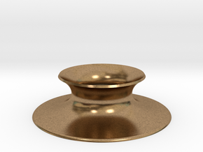 """The Universe Sphere Base """"Round"""" in Natural Brass"""