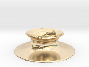 "The Universe Sphere Base ""Round"" in 14K Yellow Gold"