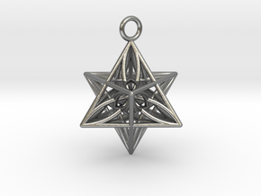 Pendant_Star of Life in Natural Silver