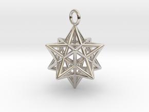 Pendant_Pentagram-Dodecahedron in Platinum