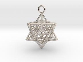 Pendant_Cuboctahedron-Star in Platinum