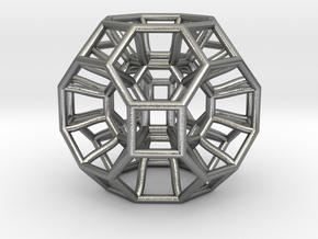 Pendant_468-Medium in Natural Silver