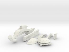 railbike, complete kit in White Natural Versatile Plastic