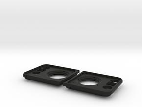 Defender Headlamp Surrounds  in Black Premium Strong & Flexible