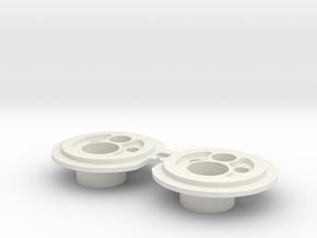Defender LED Headlights 2.0 in White Premium Versatile Plastic