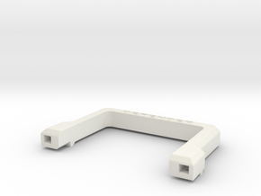 Defender A-Frame Protection Bar in White Premium Strong & Flexible