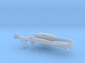 1/12th RPG launcher in Frosted Ultra Detail