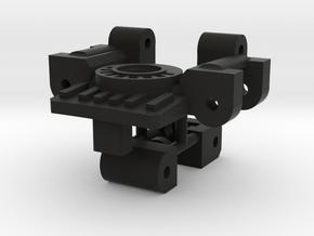 Titans Return Bumblebee Arm / Neck Swivel Hinge in Black Premium Versatile Plastic