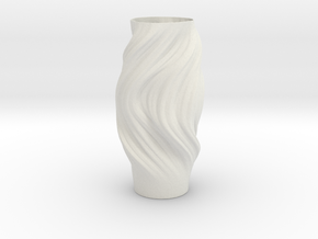 Vase 853 in White Natural Versatile Plastic