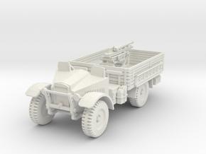 PV191A Cannone da 65/17 Gun Truck (28mm) in White Natural Versatile Plastic