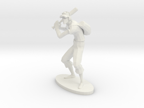 TF2 Scout RED Miniature in White Strong & Flexible: Extra Small