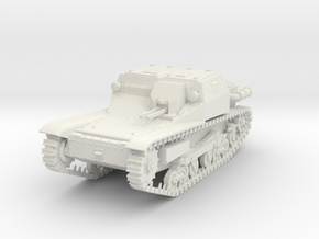 1/72nd scale 35M Ansaldo hungarian tankette in White Strong & Flexible
