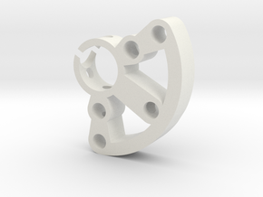 Crystal Holder 2 in White Natural Versatile Plastic