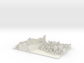 """M-03: """"City WILD"""" by Huy Bui in White Natural Versatile Plastic"""