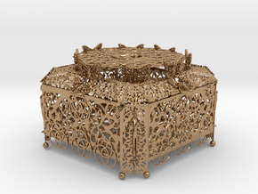 Treasure Box 2 in Polished Brass