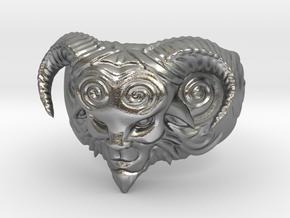 El Fauno - Pans Labyrinth Ring in Natural Silver