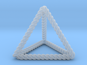 Twisted Tetrahedron RH in Smooth Fine Detail Plastic